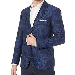 Robert Graham Blazer BNWT sz 50 tailored fit linen